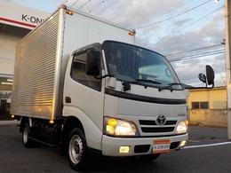 トヨタ トヨエース 3.0ディーゼルターボ アルミパネルバン1.5トン