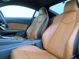 ■フアインナッパレザーシート/シートヒーター/納車時には除菌や消臭に効果のございます当店オリジナルのオゾンクリーニングを施工致します!