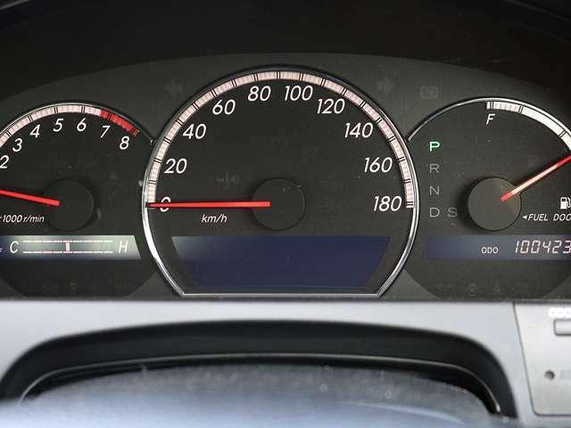【メーター】現在の走行距離100,423kmでございます。