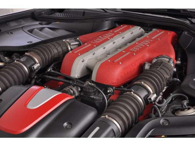 6.3L自然吸気V12エンジン