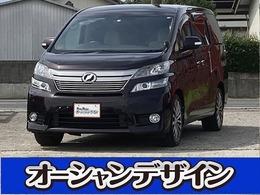 トヨタ ヴェルファイア 2.4 X 検3/8 HDDナビ フルセグ Tチェーン
