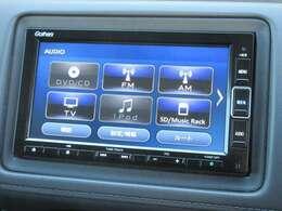 ナビゲーションはホンダ純正メモリーナビ VXM-204VFi が装着されております。AM、FM、CD、DVD再生、音楽録音再生、フルセグTV、Bluetoothがご使用いただけます。初めて訪れた場所でも道に迷わず安心ですね!