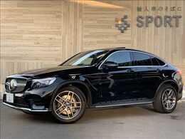 メルセデス・ベンツ GLCクーペ 220 d 4マチック スポーツ (本革仕様) 4WD サンルーフ 本革 純正ナビTV RSP LED