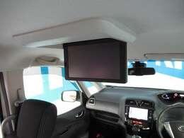 後席専用モニターは迫力ある大型モニターとエキサイティングサウンドですべてのシートにとっておきのエンターテイメントをお届けします♪