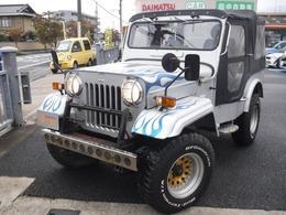 三菱 ジープ 2.7 ディーゼルターボ 4WD ディーゼル規制あり 要・登録地確認