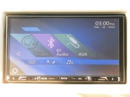 CD・ラジオの他、Bluetoothオーディオ機能も搭載!