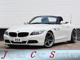 BMW Z4 sドライブ 23i ハイラインパッケージ 黒革 新品WORK19 H&Rダウンサス