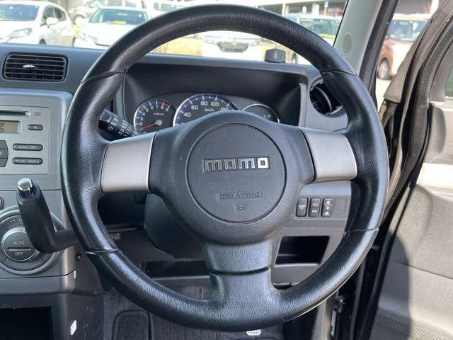 「ステアリング」握りやすいので、運転は楽々!!