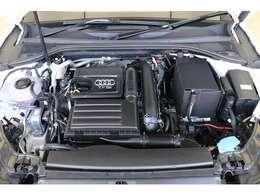排気量を小さくし、燃費・環境性能向上と余裕あるパフォーマンスを両立するTFSIエンジン。キビキビとしたスポーティーな走りと、アイドリングストップ機能などにより低CO2排出量・低燃費を実現します。