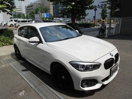 BMW 1シリーズ 118i Mスポーツ エディション シャドー ディ-ラ-下取車 1オ-ナ- 禁煙車 D記録簿2枚