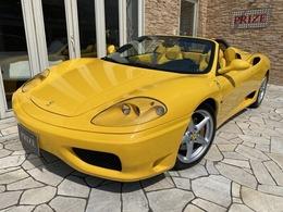 フェラーリ 360スパイダー F1 ディーラー車