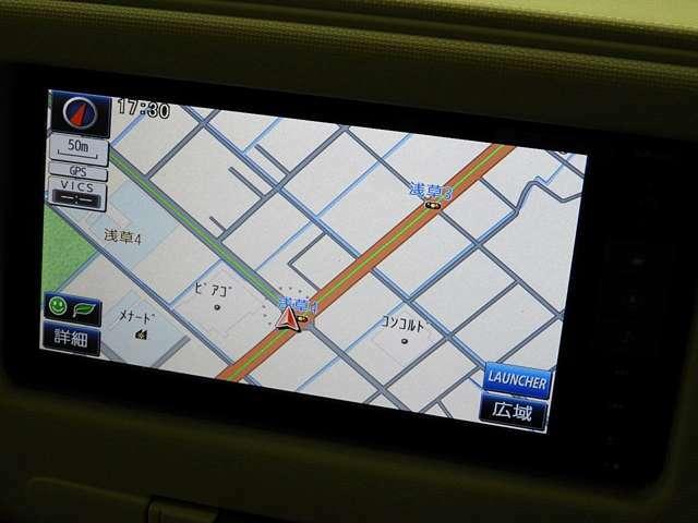 純正SDナビ付ですので、ご遠方へのご旅行やドライブなどの際でも安心です♪