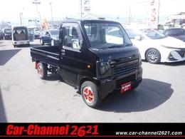 スズキ キャリイ 660 KCエアコン・パワステ 3方開 4WD 塗装済ブラック エアコン パワステ 5MT