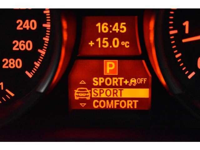 ドライビングパフォーマンスコントロール装備しております! COMFORT&SPORT&SPORTプラスモードを設定可能です! 快適なドライブをサポートしてくれる装備内容です!