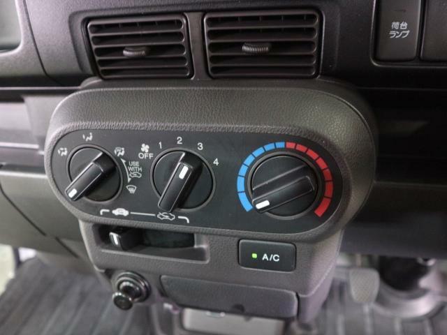 簡単操作なエアコンで快適に過ごせます。