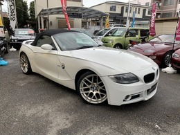 BMW Z4 ロードスター2.5i エアロ アルミ ETC 赤革 マフラー 後期
