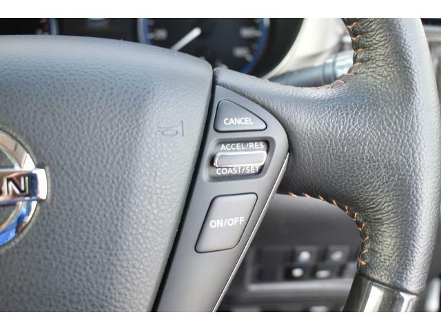 クルーズコントロールで長距離運転の疲労を軽減してくれます!