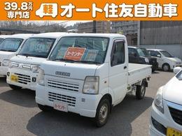 スズキ キャリイ 660 KU エアコン・パワステ 3方開 4WD フロア5MT