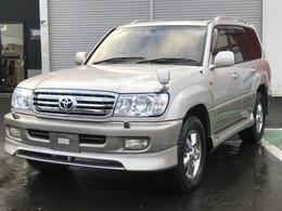 トヨタ ランドクルーザー100 4.2 VXリミテッド Gセレクション ディーゼルターボ 4WD ナビ TV