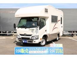 トヨタ カムロード キャンピングバンテックコルトリーブス4WD 家庭用エアコンインバータートリプルサブ