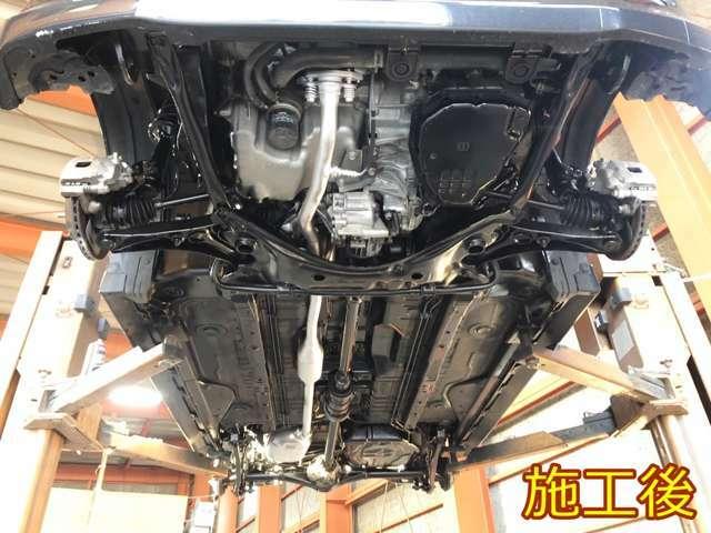 Bプラン画像:車にとってサビは天敵です。あなたの愛車をしっかりとコーティングし、塩害から守ります!