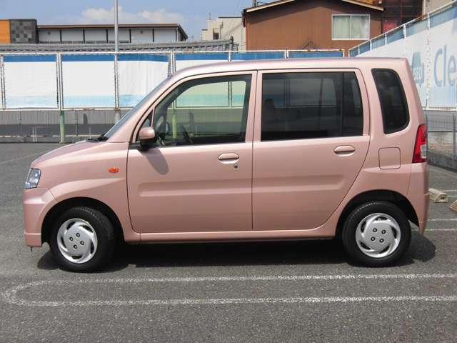 車体色はサクラピンクメタリック☆落ち着いたピンクなので、老若男女どなたでも気兼ねなくお乗りいただけます☆傷等も目立ちにくい!