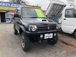 スズキ ジムニー 660 ワイルドウインド 4WD リフトアップ 社外マフラー テール