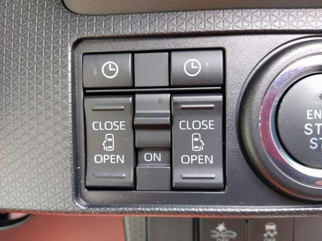 電動スライドドアのスイッチ類です♪室内からボタン一つでスライドドアを開くことができます♪