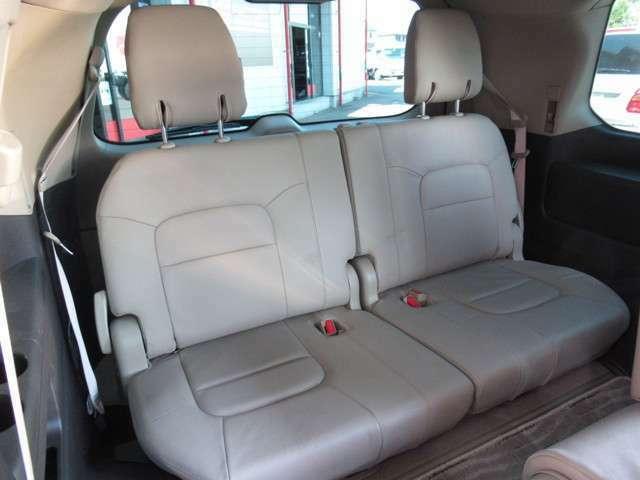 サードシートは使用感もなくキレイです!