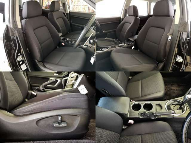 運転席・助手席パワーシート完備 ちょっぴり リッチな気分にさせてくれる装置ですね 細かい微調整で快適なドライビングポジションを・・・