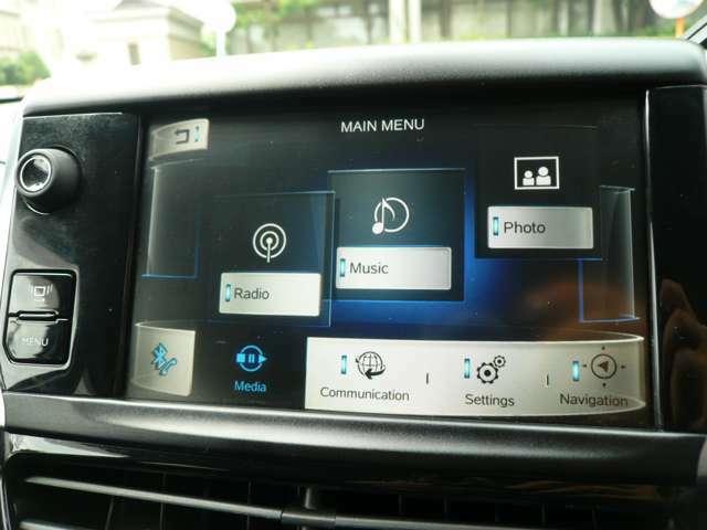 お車の車両情報もモニターで確認できます。