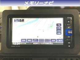 【ナビ】純正ナビが付いています。CDやDVD再生、Bluetoothオーディオなど音楽機能も充実しています。