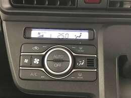 【エアコン】エアコンは使いやすいオートエアコンになります。