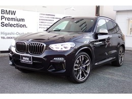 BMW X3 M40d ディーゼルターボ 4WD 1オ-ナ- ブラックレザー認定保証21AW