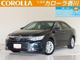 トヨタ カムリハイブリッド 2.5 レザーパッケージ HV保証・純正メーカーメモリーナビTV