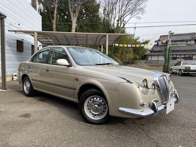 日産サニーがベースのクラシック風セダン!光岡自動車ならではのクラシックスタイルで人気の車輌です!