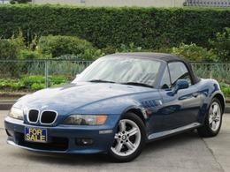 BMW Z3 ロードスター 2.2i 黒革ハーフ/記録簿/ETC/CD/USB/AUX