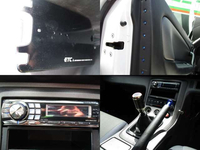 ETC LEDイルミ 社外オーディオ装備 公認MT5速
