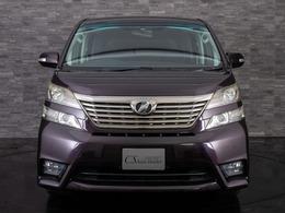 トヨタ ヴェルファイア 2.4 Z 両側自動ドア/ALPINE後席モニタ/HDDナビ