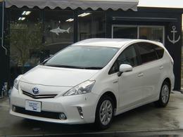 トヨタ プリウスα 1.8 S 5年保証オイル永年サービス・SDナビ・ETC