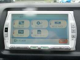純正メモリーナビ(VXS-092CVi)です。DVD/CD再生のほかにもワンセグTV、ミュージックサーバー機能も装備されとっても便利です!