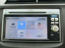 純正メモリーナビ(VXM-118VS)です。DVD/CD再生のほかにもワンセグTV、USB接続機能も装備されとっても便利です!