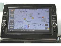 【ナビゲーション】ワイドで明るい液晶画面、簡単な操作方法、多機能ナビゲーション。知らない街でも安心です。 ≪メーカー:オリジナルナビ  型番:MM318D-LM≫