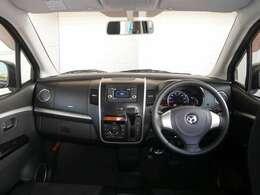 開放的な室内☆見渡しが良く運転もしやすくなっております!