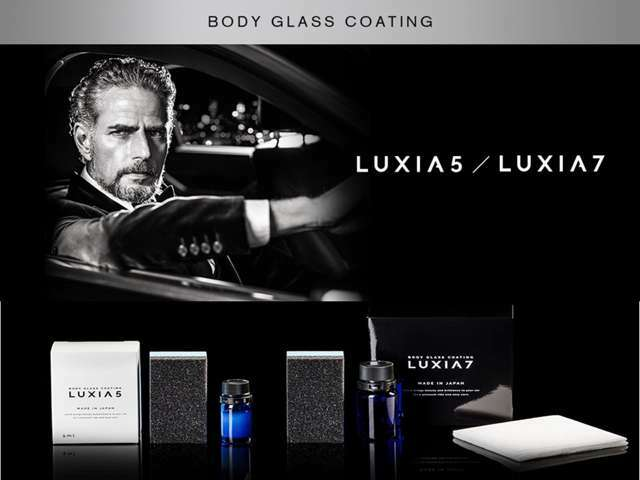 Bプラン画像:LUXIA5ガラスコーティング ガラス光沢 超撥水性