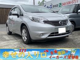 日産 ノート 1.2 X オ-トSTOP SDナビ ワンセグTV スマ-トKEY