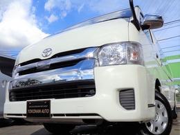 トヨタ ハイエース 2.7 グランドキャビン 4WD 5型セーフティセンス法人1オナナビ電動ドア