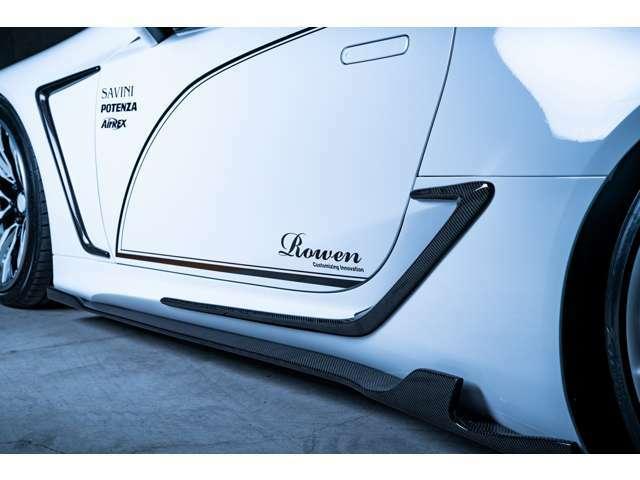 車両装着パーツは、エアロ、車高調、ホイール、タイヤで実に470万円分のパーツを装着しております。