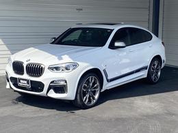 BMW X4 M40i 4WD 整備記録簿・スペアーキー付き