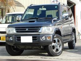 三菱 パジェロミニ 660 VR スペシャルカラーエディション 4WD 4WD ナビ TV ETC 背面タイヤ